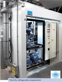 CO2 refrigeration equipment